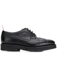 Thom Browne Classic Crepe Sole Brogue Black