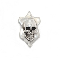 The Wildness Jewellery Taxidermy Skull Pendant Silver