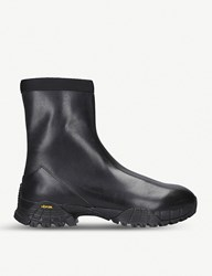 Alyx Laceless Leather Boots Black