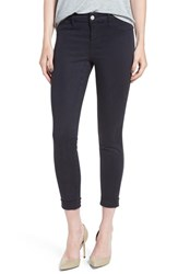 J Brand Women's High Rise Ankle Super Skinny Jeans Dark Navy