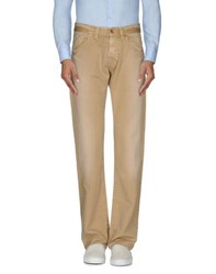 Boss Orange Trousers Casual Trousers Men Sand