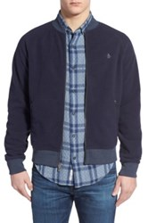Original Penguin Fleece Track Jacket Blue