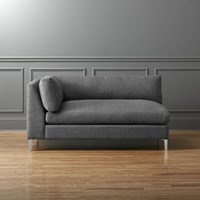 Cb2 Decker Right Arm Chaise