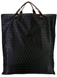 Corto Moltedo Large Shopping Bag Women Calf Leather Nylon One Size Black
