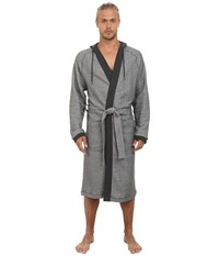 Hugo Boss Heritage Robe Grey Men's Robe Gray