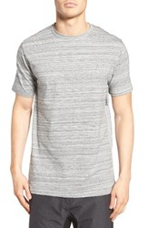 Zanerobe Men's Flintlock Mesh Side T Shirt Space Grey