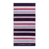 Tommy Hilfiger Iconic Stripes Beach Towel Navy