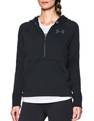 Under Armour Cotton Blend Fleece Hoodie Black