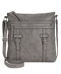 Styleandco. Style Co. Freestyle Crossbody Only At Macy's Grey