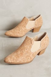 Anthropologie Farylrobin Chelsea Cork Boots Neutral