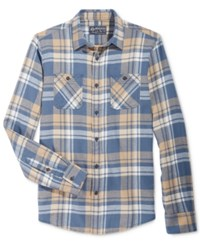 American Rag Men's Plaid Flannel Shirt Only At Macy's Dusty Seas