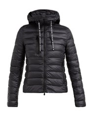 Moncler Seoul Hooded Quilted Down Jacket Black