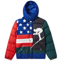 Polo Ralph Lauren Downhill Skier Down Jacket Multi