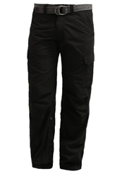 Schott Nyc Us 70 Cargo Trousers Black