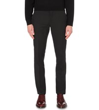 Paul Smith Soho Fit Cotton Travel Trousers Charcoal