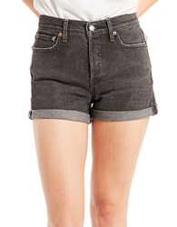 Levi's Beat Remix Wedgie Shorts Dark Blue