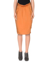 Bea Yuk Mui Bea Skirts Knee Length Skirts Women Orange