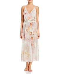 Flora Nikrooz Peggy Printed Nightgown Ivory Floral