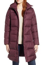 Patagonia 'Down With It' Water Repellent Parka Dark Currant