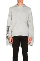 Gosha Rubchinskiy Hooded Sweatshirt In Gray