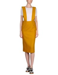 Each X Other Overall Skirts Ocher