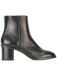 Rag And Bone Studded Ankle Boots Black