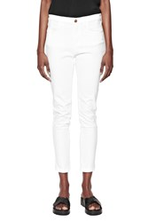 French Connection Slim Cropped Jeans White
