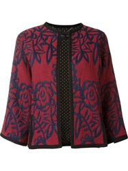 Barbara Bui Printed Jacket Red