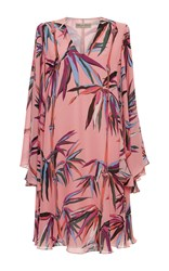 Emilio Pucci Ruffled Mini Dress Print