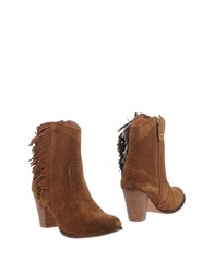 Gioseppo Ankle Boots Camel