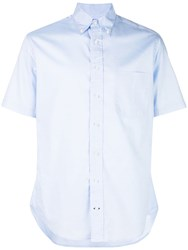 Gitman Brothers Vintage Classic Relaxed Fit Shirt Blue