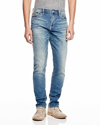 Jean Shop Selvedge Skinny Stretch Jeans In Indigo
