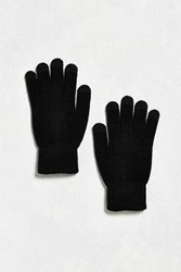 Urban Outfitters Uo Touchscreen Glove Black