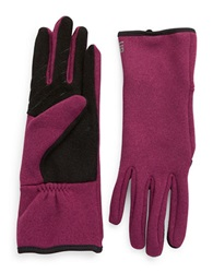 Ur Connected Fleece Lined Tech Gloves Pink