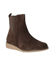 White Stuff Bethan Wedge Boot Brown