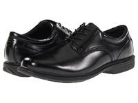 Nunn Bush Baker St. Plain Toe Oxford Black Men's Plain Toe Shoes