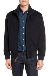 Golden Bear Men's Funnel Neck Wool Varsity Jacket
