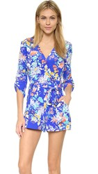 Yumi Kim Liz Romper Royal Blue Carnation