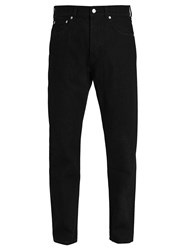 Berluti Straight Leg Denim Jeans Black