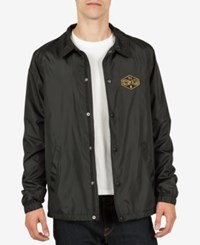Volcom Men's Recall Coach Jacket Black