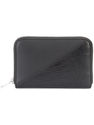 Alexander Wang Mini Dime Compact Wallet Black