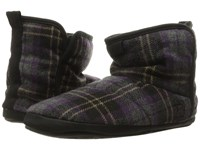 Bedroom Athletics Depp Plum Check Men's Slippers Purple