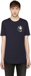 Diesel Black Gold Navy Scorpio T Shirt