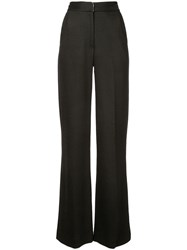 Adam By Adam Lippes High Rise Tailored Trousers Black