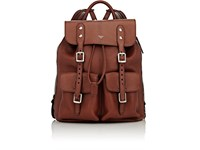 Fontana Milano 1915 Men's Expandable Backpack Dark Brown
