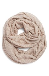Women's Bcbgeneration Speckled Knit Infinity Scarf Brown