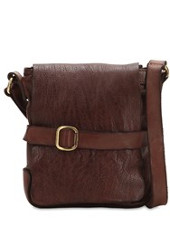 Campomaggi Leather Crossbody Bag Brown