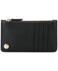 Nine West Table Treasures Zip Card Case Black