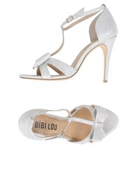 Bibi Lou Footwear Sandals Women White