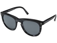Dolce And Gabbana 0Dg4281 Striped Anthracite Grey Mirror Black